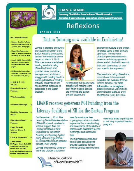 spring newsletter pic